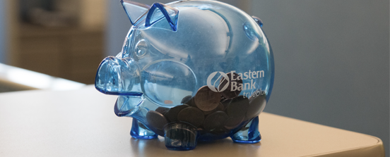 Eastern Bank piggy bank