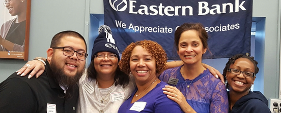 Eastern Bank employees celebrating Retail Associates Appreciation Day