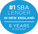#1 Small Business Lender in New England 8 years running