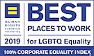 Human Rights Campaign Best Places to Work for LGBTQ equality 2018 and 2019