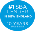 #1 SBA Lender 10 Years Running