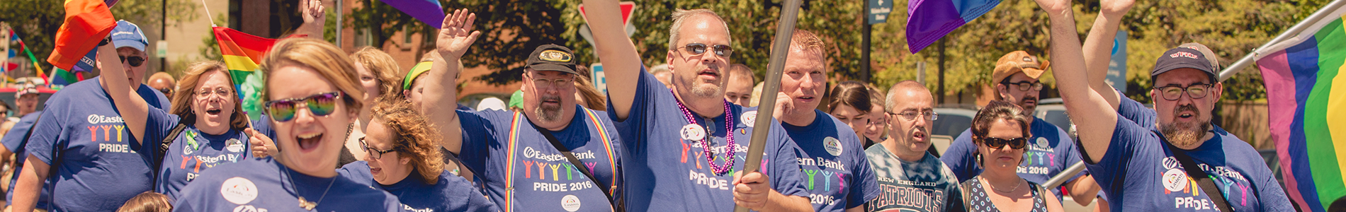 Eastern Bankers at the Boston Pride Parade