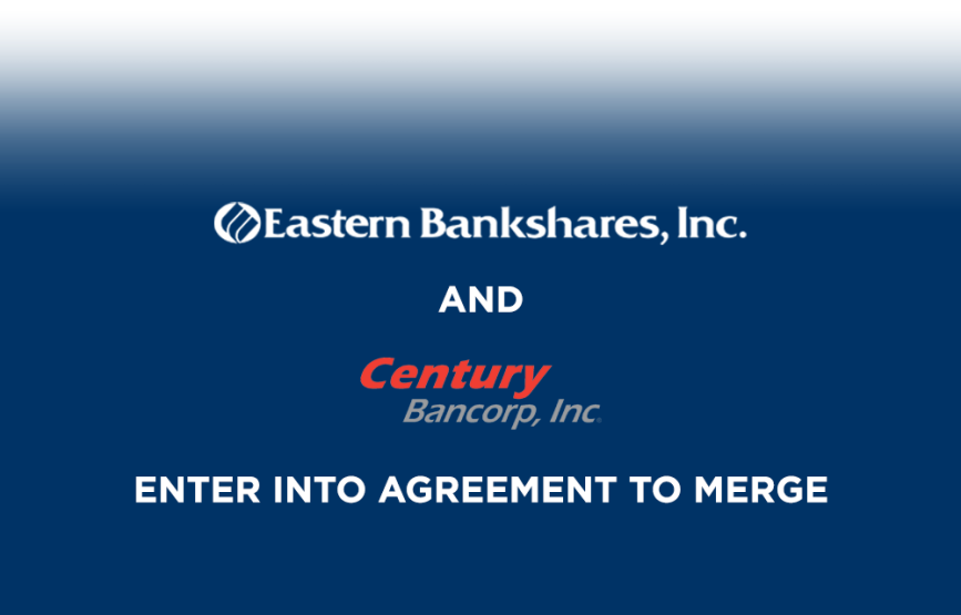 astern Bankshares, Inc. and Century Bancorp, Inc. Enter Into Agreement To Merge